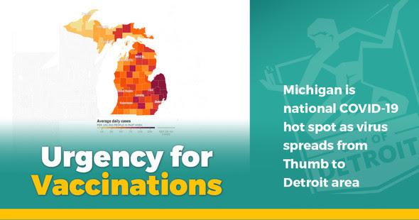 Rising COVID Rates in Michigan