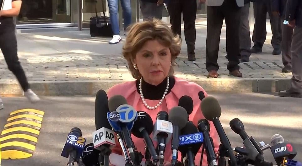 AttorneyGloria Allred addresses the media following R. Kelly's guilty verdict, calling him the worst sexual predator she has come across in her decades representing victims