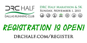 DRC Half Marathon & 5K Registration is Open!
