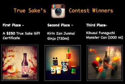 True Sake Instagram Contest December 2014