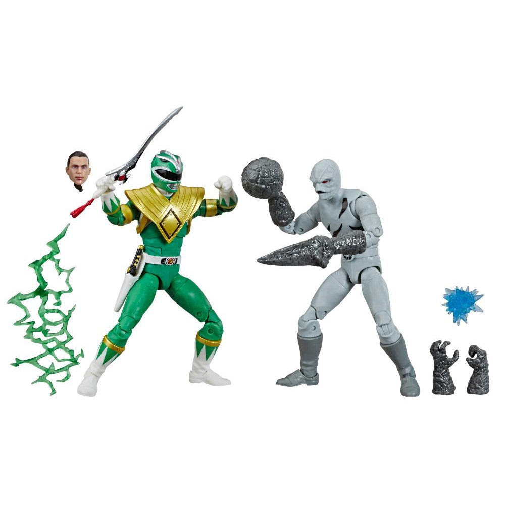 Image of Power Rangers Lightning Collection Green Ranger vs. Putty Patrol 6-Inch Action Figures