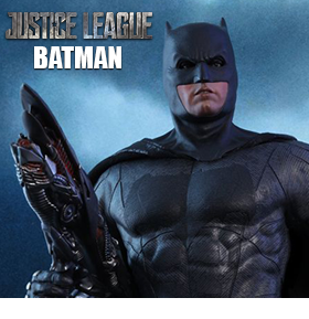 JUSTICE LEAGUE MMS455 BATMAN 1/6TH SCALE FIGURE