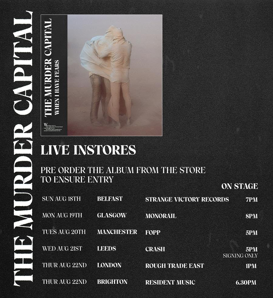 The Murder Capital trail new album with live session video