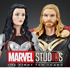 MARVEL STUDIOS: THE FIRST TEN YEARS THOR & SIF TWO-PACK
