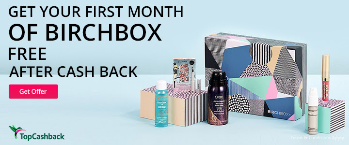 FREE Month of BirchBox...