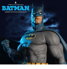 DC COMICS SUPER POWERS COLLECTION BATMAN MAQUETTE