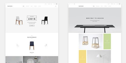 Beautiful, Minimal Shopify Stores