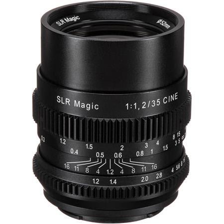 Cine 35mm F/1.2 Lens for Sony E-Mount