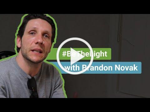 #BeTheLight with Brandon Novak: The fight To Destigmatize Mental Health In America