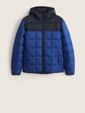 Kabátszezon - Kétszínű steppelt anorák