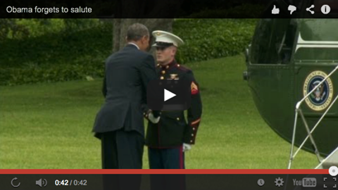 WATCH this ridiculous display of disrespect by Barack Obama.
