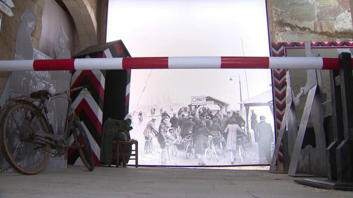 A Moulins, une exposition retrace la vie des habitants quand la ligne de démarcation coupa la ville en deux en 1940