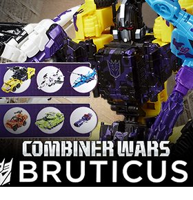 G2 BRUTICUS GENERATIONS COMBINER WARS COLLECTION PACK