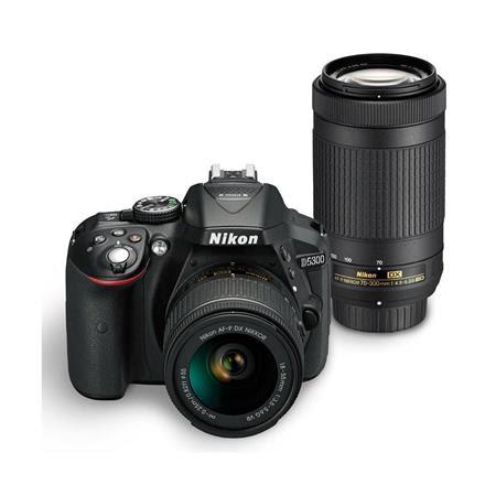 D5300 DSLR w/AF-P DX NIKKOR 18-55mm f/3.5-5.6G VR Lens & AF-P DX NIKKOR 70-300mm f/4.5-6.3