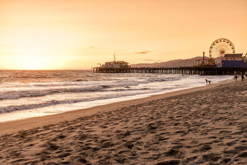 Santa Monica is a uniquely west coast attraction.