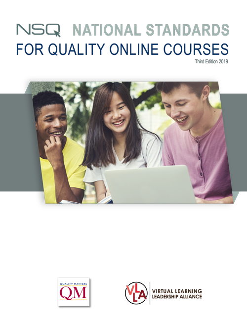 cover of national standards for quality online courses