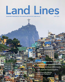 Land Lines Magazine Cover