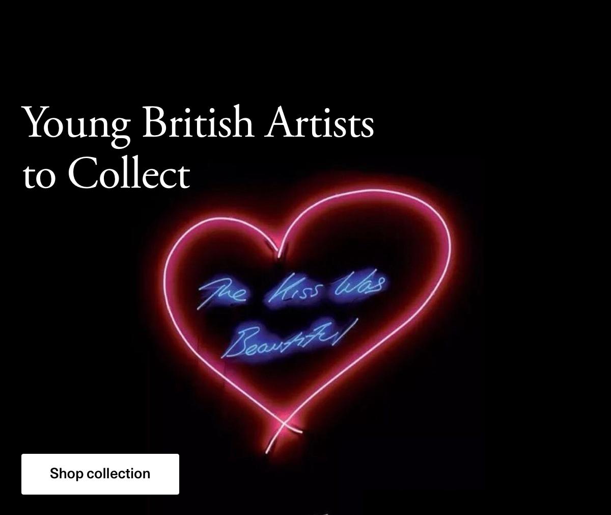 Jovens artistas britânicos para coletar